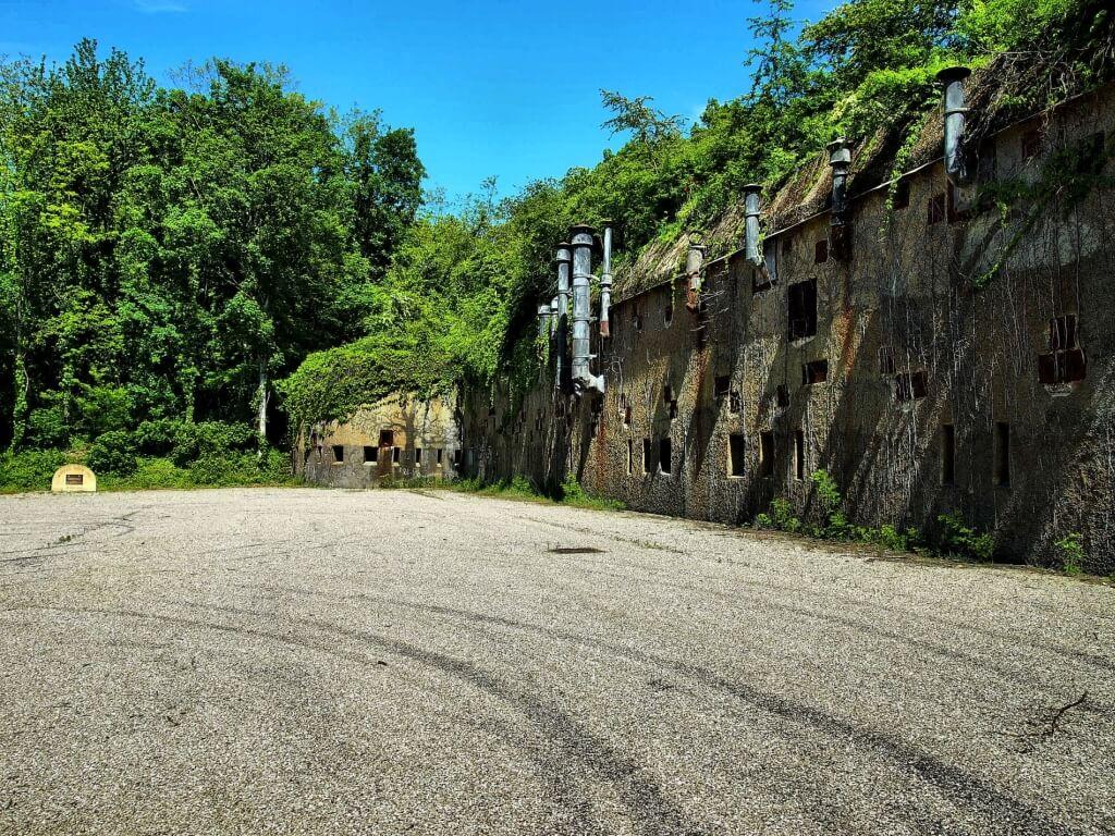 östliche Kaserne Festung Koenigsmacker